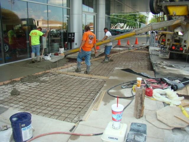BMW Auto Haus Concrete