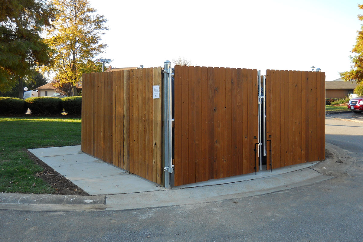 Dumpster Enclosure 2