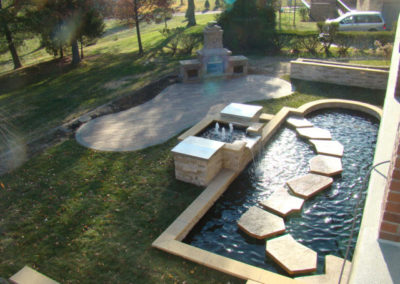 Concrete Div Pic 4 (Koi Pond & Patio)